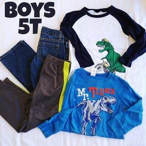 Boys 5T  Dino Bundle